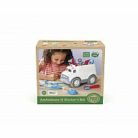 Green Toys Ambulance Doctor Kit