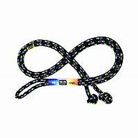 8 ft. Jump Rope Confetti Black