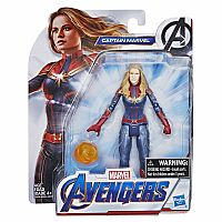 Avengers Captain Marvel 6""