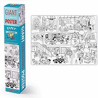 Giant Coloring Poster - Art