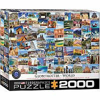 2000 Pieces - THE BIG PUZZLE COLLECTION - World - Globetrotter 2000 pc
