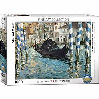 Impressionism Puzzles - The Grand Canal of Venice by Edouart Manet