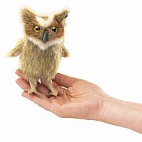 Mini Great Horn Owl Puppet