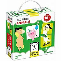 Puzzle Pairs Animals