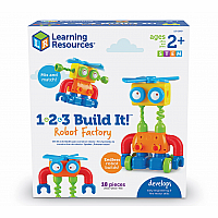 123 Build It Robot Factory