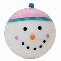 Holiday Stress Ball Snowman