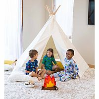 7' Indoor/Outdoor Canvas Teepee